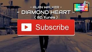 Gambar cover Alan walker - Diamond Heart ( 8D Audio )