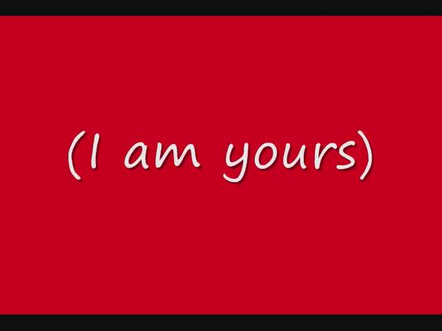 I Am Yours - The Afters