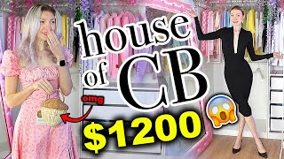 I SPENT $1200 ON HOUSE OF CB!!!! HOUSE OF CB HAUL & TRY ON 2021 *is it worth it??*
