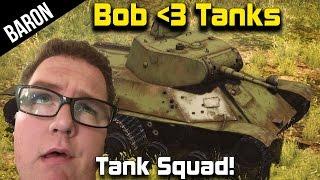 War Thunder Tanks - Teaching Bob Muyskerm How to Tank!  w/ PhlyDaily!