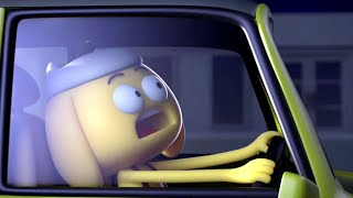 AstroLOLogy | Scary Night Driving | Chapter: On The Move | Compilation | Cartoons for Kids