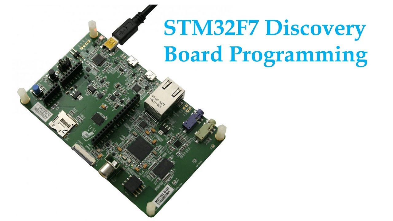 2 Interrupt, LED and Push Button Programming of STM32F7 Discovery Board