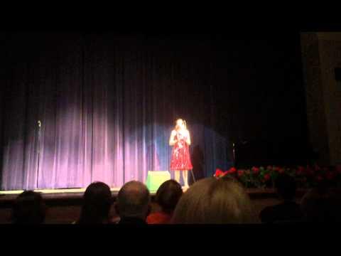 "Zoe Turner, ""I WIll Always Love You"" at Hamilton Southeastern High School"