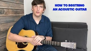 The BEST Way to Restring an Acoustic Guitar (Including an AWESOME Bonus Tip!)