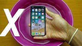 iPhone X Water Test - Will It Die? (HD)