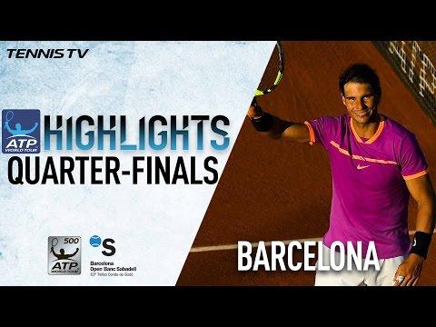 Highlights: Nadal Murray Into Semis At Barcelona 2017