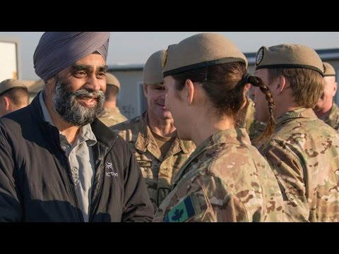 """Liberal Defense Minister admits Canada's """"peacekeeping"""" role doesn't fit today's reality"""