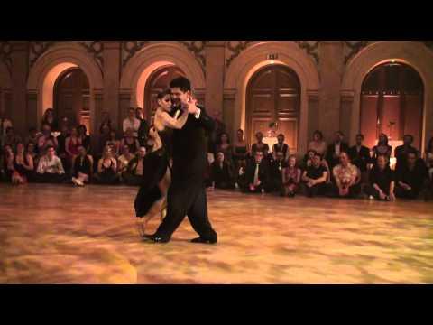 Sebastian Arce & Mariana Montes, Frostbite tango 2012, milonga 2