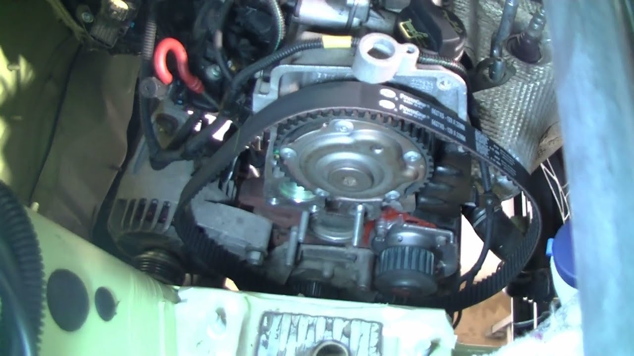 hight resolution of fiat ford 1 2l replacing timing belt and water pump