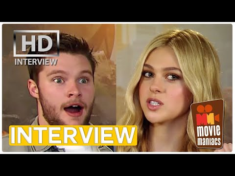 Nicola Peltz & Jack Reynor on dads and boyfriends in Transformers 4 2014 EXCLUSIVE