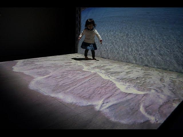 プロジェクションマッピング技術を用いた仮想現実の仕組み