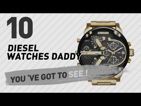 Top 10 Diesel Watches Daddy // New & Popular 2017