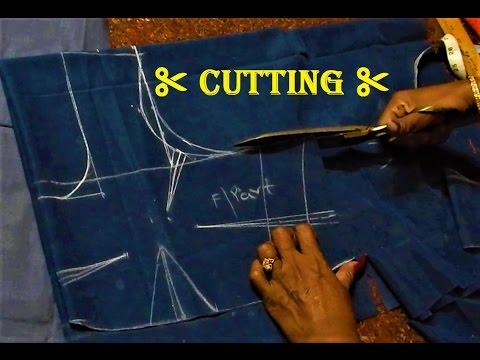 Saree Blouse Cutting Tutorial In Kannada   ಸೀರೆ ಕುಪ್ಪಸ ಕತ್ತರಿಸುವ ಸರಳ ವಿಧಾನ - ಭಾಗ ೧