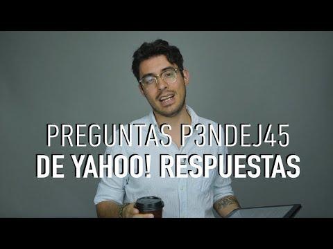 Las preguntas más tontas de Yahoo! respuestas