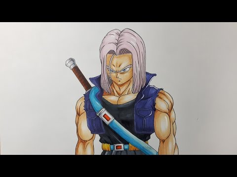 Drawing Future Trunks - Bojack Unbound
