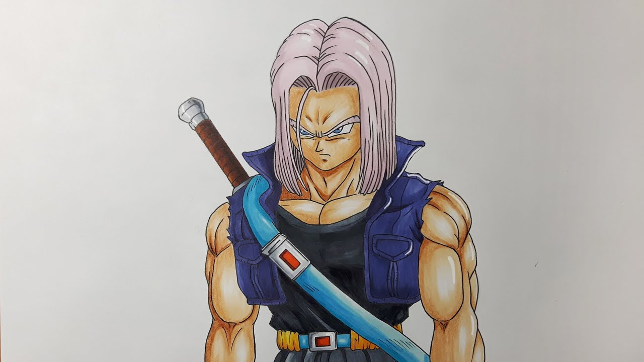 Drawing Future Trunks - Bojack Unbound - YouTube