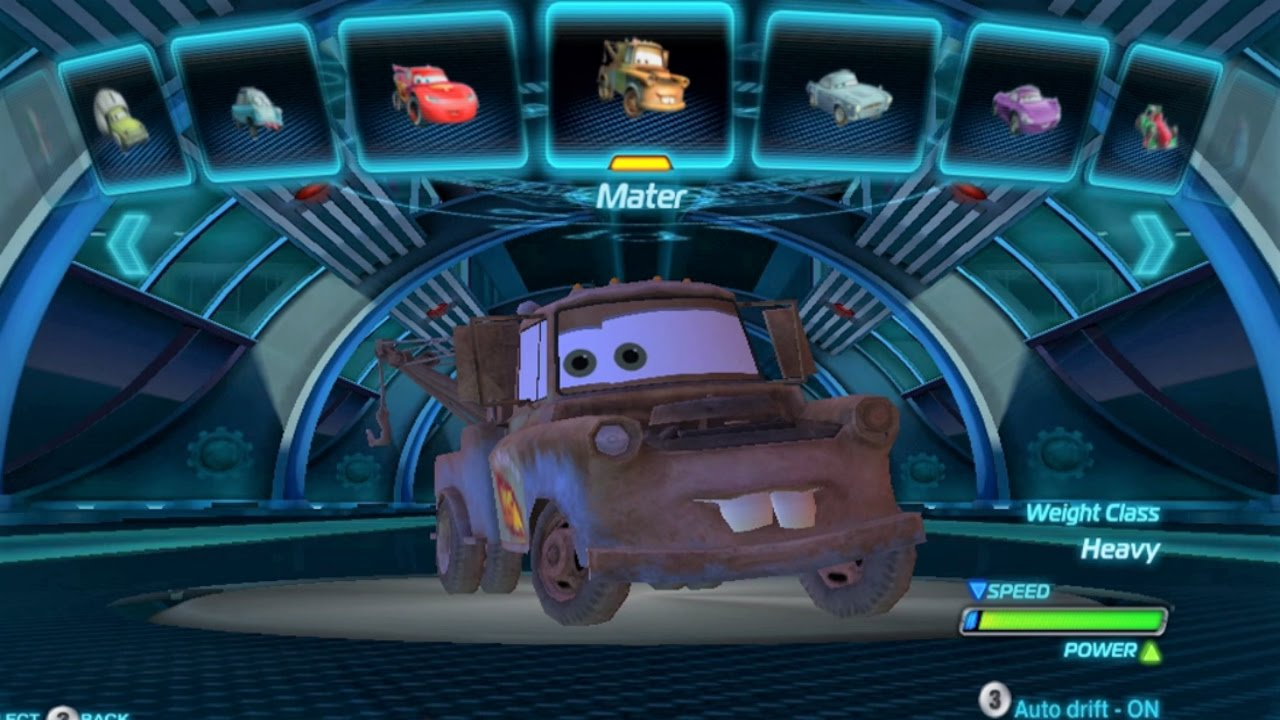 Cars Video Game Ps