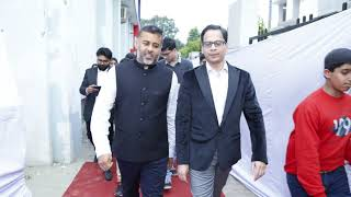 Grand Opening & Ribbon Cutting Ceremony of our new premises by Chetan Bhagat.