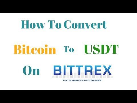 Bittrex  पर Bitcoin  को  USDT में  कैसे Convert  करें ?  How To Convert Bitcoin to USDT on Bittrex