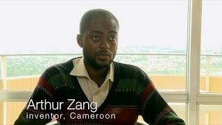 Arthur Zang, Inventor of the Cardiopad, Cameroon