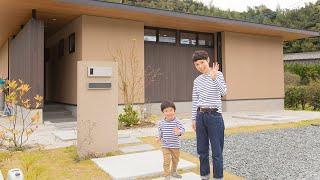 casa piatto #01|キッチンから全体が見渡せる平屋【casaの家 / casa films】