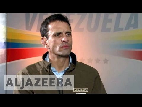 Talk to Al Jazeera - Henrique Capriles: Venezuela is not all about Maduro