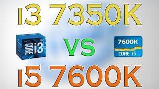 i3 7350k vs i5 7600k benchmarks gaming tests review and comparison kaby lake vs kaby lake