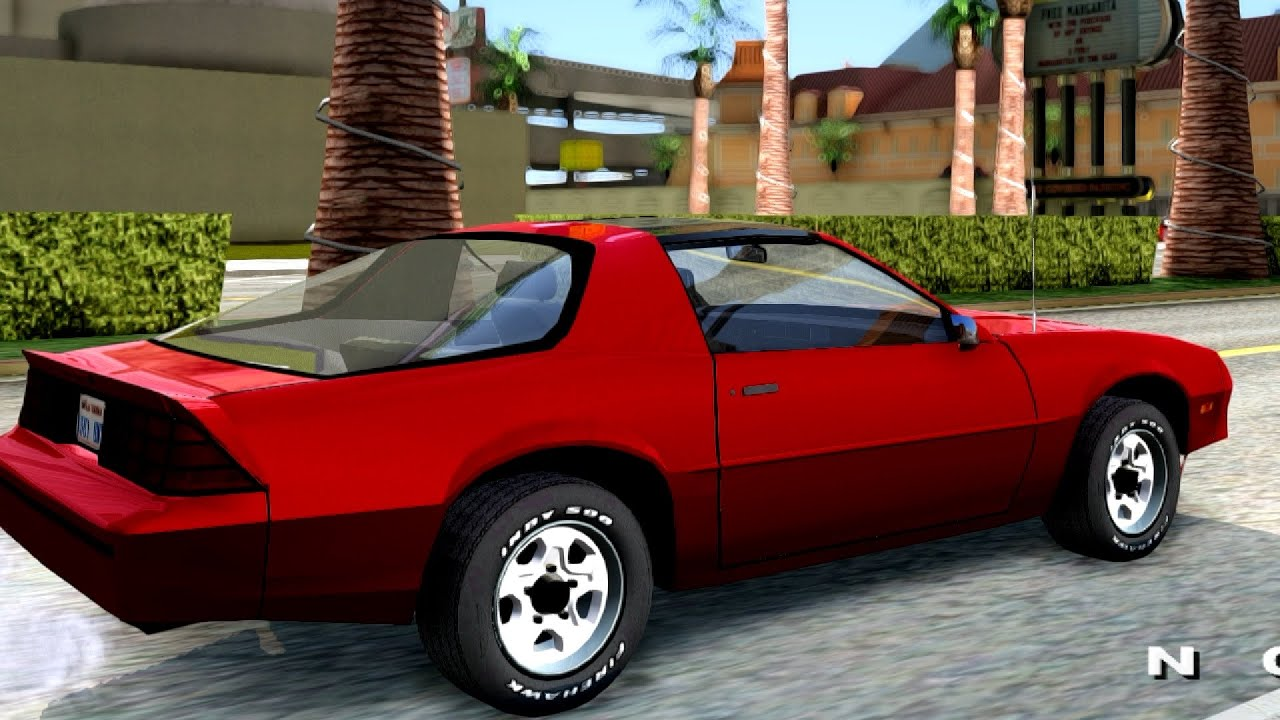Chevrolet Camaro 86 Targa Top Gta San Andreas