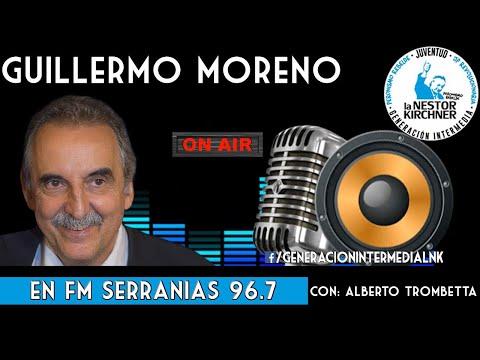 Guillermo Moreno Con Alberto Trombetta 14/02/20