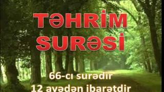 66.TEHRIM SURESI.WMV