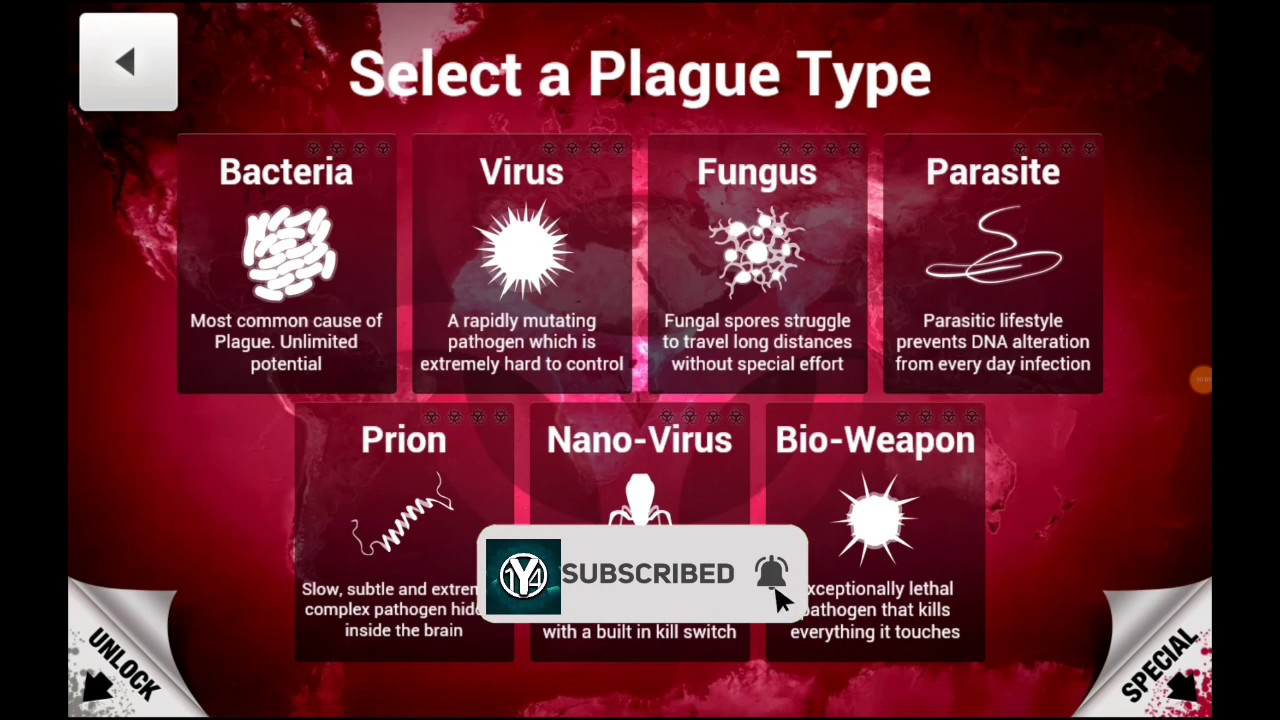 Plague Inc. (MOD, Unlocked) 1.16.0.apk   Android 4.1 +  #Smartphone #Android