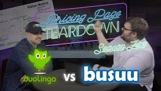 A Language Learning Subscription Face-Off! | Busuu vs Duolingo |Pricing Page Teardown