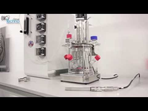 Лабораторный ферментер BIOWEB - калибровка датчика кислорода