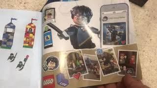 Unboxing LEGO 759656 Qudditch Match HP