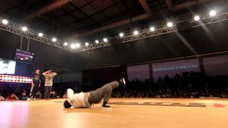 Eurobattle 2012 - Semi Final Bgirl Battle - Movie One & Tania(Spain) vs Butterflysoul(Portugal)