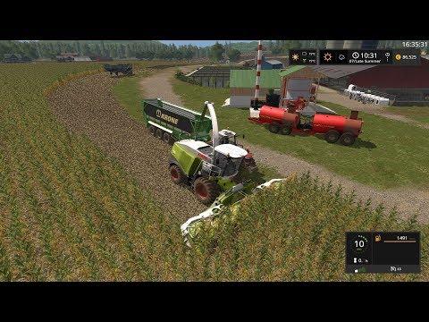 Farming Simulator 17 Timelapse #92   South Mountain Creamery. thumbnail