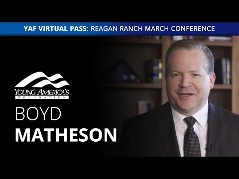 Boyd Matheson LIVE at the Reagan Ranch March Conference ...