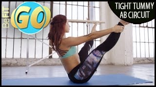10 Min Tight Tummy Pilates Circuit Workout for Mobile: BeFiT GO