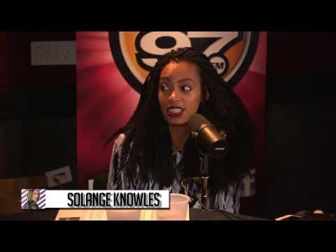 Solange talks disciplining her son & Blue Ivy!