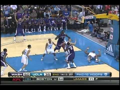 Washington Huskies vs. UCLA Bruins Basketball 2010