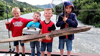 Fishing with the Boys!  so cute!