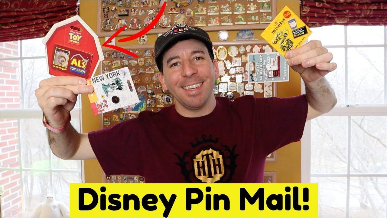 Disney Pin Mail