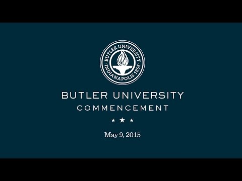 Butler University Spring Commencement 2015