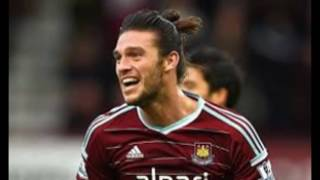 Watch Emmanuel Petit's hilarious reaction to Andy Carroll's stunning scissor kick goal