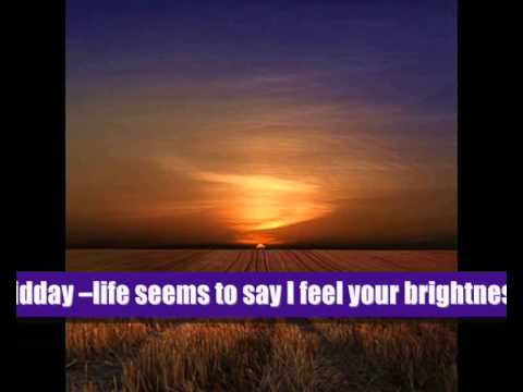 I Watch The Sunrise (with lyrics)
