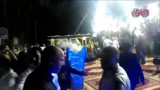 وائل جمعة يقدم واجب العزاء فى فاة طارق سليم بعمرو مكرم