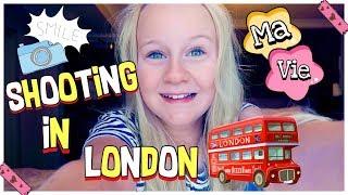 NIKE SHOOTING & SHOPPING IN LONDON | MaVie Noelle Vlog