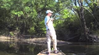 Go Pro Bass Fishing on the Withlacoochee River