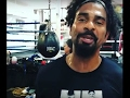 David Haye getting ready for Tony Bellew at 5th Street Gym! DyMiller Mariette