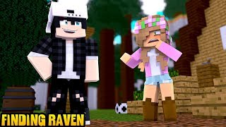 LITTLE KELLY FINDS RAVEN! | Minecraft Little Kelly
